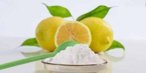 Ácido cítrico en productos de limpieza