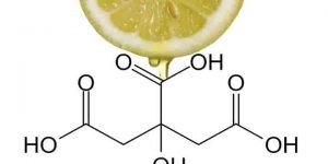 formulación química del ácido cítrico